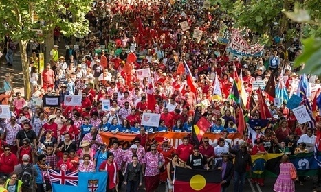 #Climate change march: 40,000 take to the streets in #Sydney – video | Messenger for mother Earth | Scoop.it