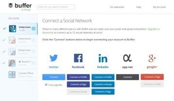 Las 4 mejores herramientas para programar contenidos en redes sociales | Social Media Today | Scoop.it