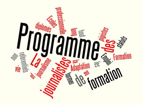 Programme - Conférence nationale des métiers du journalisme | Médias et Santé | Scoop.it