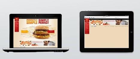 Personnalisez vos burgers via iPad avec McDonald's | CA Com | E Marketing : Innovation des marques | Scoop.it