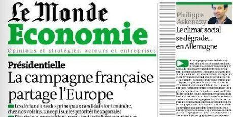 La campagne française partage l'Europe | Union Européenne, une construction dans la tourmente | Scoop.it