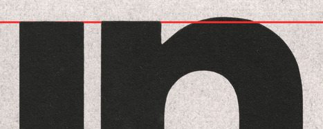 Typeface Mechanics: 001 | The brain and illusions | Scoop.it