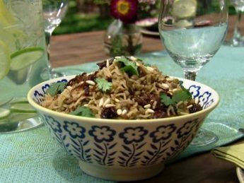 Lebanese Lentils, Rice and Caramelized Onions (Mujadara) : Aarti Sequeira : Food Network | Food for Foodies | Scoop.it