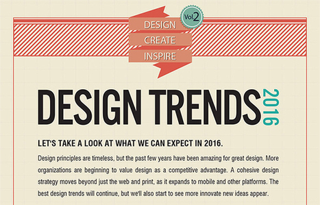 8 Design Trends You Can Expect to See in 2016 | World of #SEO, #SMM, #ContentMarketing, #DigitalMarketing | Scoop.it
