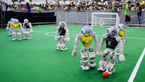 Highlights and Results from the Robot World Cup | Heron | Scoop.it