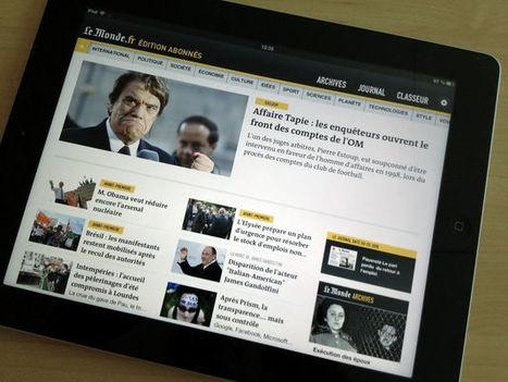 Les internautes s'informent de plus en plus avec les tablettes | Histoires de Mobile | Scoop.it