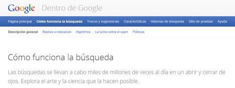 Cómo funcionan las búsquedas dentro de Google | e_Biblioteca | Scoop.it