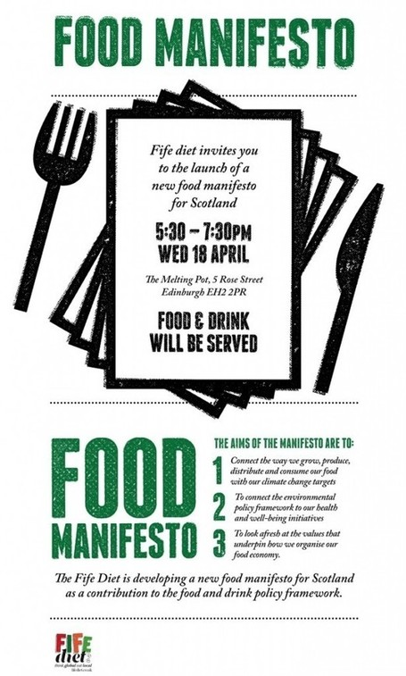 Food Manifesto Launch – The Fife Diet | Culture Scotland | Scoop.it