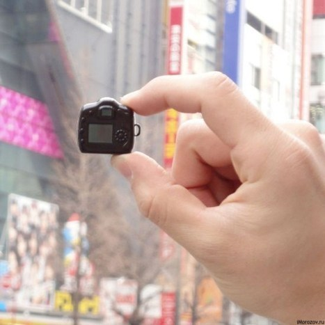 The Tiniest Camera in the World (20 images) - Amazing videos | Crazy images - Funlobby.com | What Surrounds You | Scoop.it