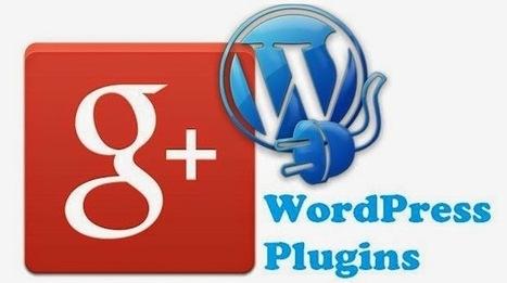 8 Plugins WordPress pour Google+ - #Arobasenet | Médias et réseaux sociaux | Scoop.it