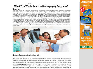Career in Radiography | MedicsPro Radiography Agency | Scoop.it