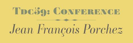 Jean François Porchez speaking at TDC 59 Paris | What's new in Visual Communication? | Scoop.it