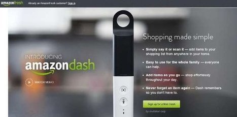 De nieuwste shopping innovatie: Amazon Dash | smartbiz.be | Showcase ICT & e-skills | Scoop.it