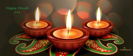 Let the festival of Lights lighten up your lives too. Wishing you a crackling and sparkling Diwali. | Travel - Places, Destinations, Vacations | Scoop.it