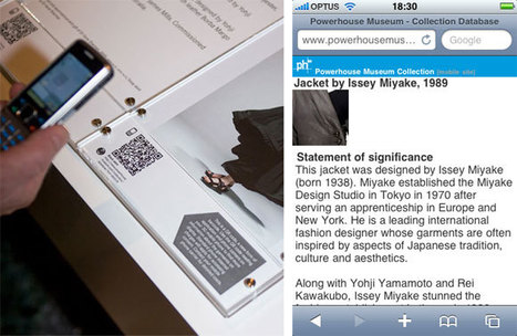 QR Codes in Museums | QRiousCODE | Scoop.it