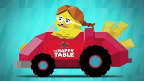 McDonald's: Happy Table - YouTube | campagne digital | Scoop.it
