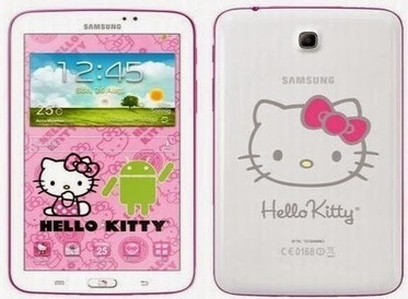 Harga & Spesifikasi Samsung Galaxy Tab 3 7 Inci - Versi Hello Kitty | gadget | Scoop.it