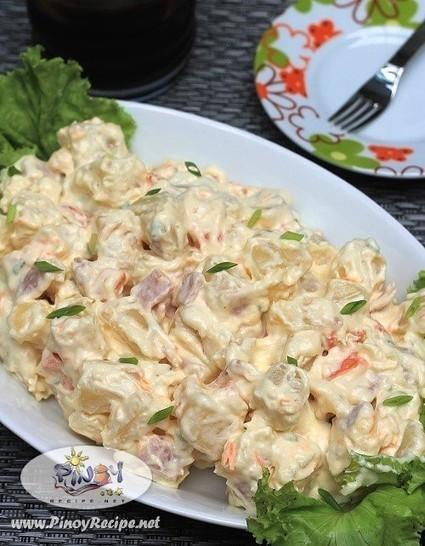 Ham and Potato Salad Recipe | Filipino Recipes Collection | Scoop.it