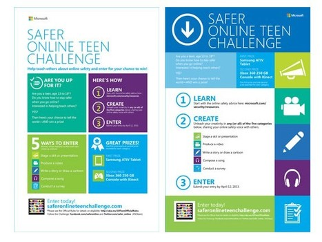 Participate in the Safer Online Teen Challenge | Ciberseguridad + Inteligencia | Scoop.it