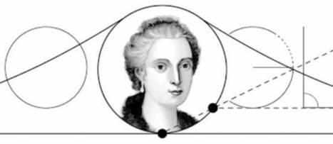 Avec Maria Gaetana Agnesi, Google met à l'honneur la reine des mathématiques ! | Tout le web | Scoop.it