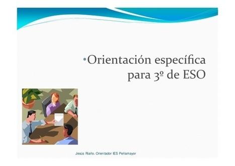 Presentaciones OrientaNava sobre Orientación Académica para alumnos de Secundaria de Asturias | #TuitOrienta | Scoop.it