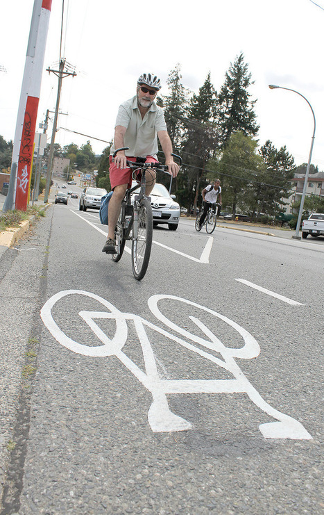 Protected bike lane meant to improve safety - Nanaimo News Bulletin | Rolling Horse Community Bikes | Scoop.it