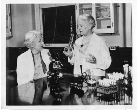 Elizabeth Lee Hazen (1888-1975) and Rachel Brown (1898-1980) | Smithsonian Institution Archives | ScienceStuff | Scoop.it