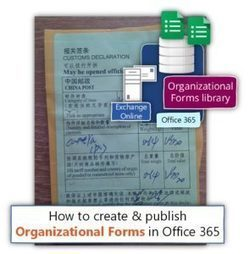 How to create & publish Organizational Forms in Office 365 | o365info.com | Scoop.it