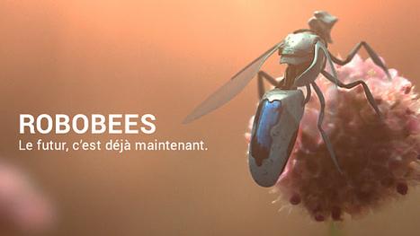 Les robots-abeilles sont arrivés pour sauver l'humanité   Innovations et Développement durable   Scoop.it