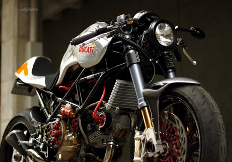 Custom / Silver Shot Gun / Radical Ducati | '94 Ducati 900SS | Scoop.it