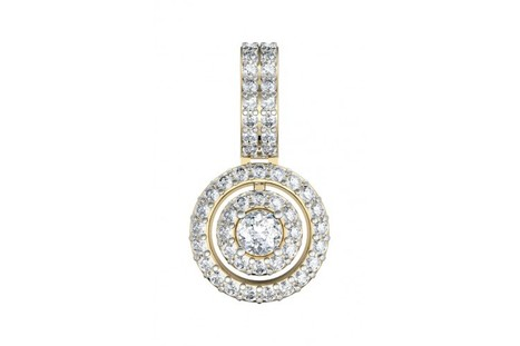 Charming diamond solitaire pendant | Diamond Jewellery India | Scoop.it