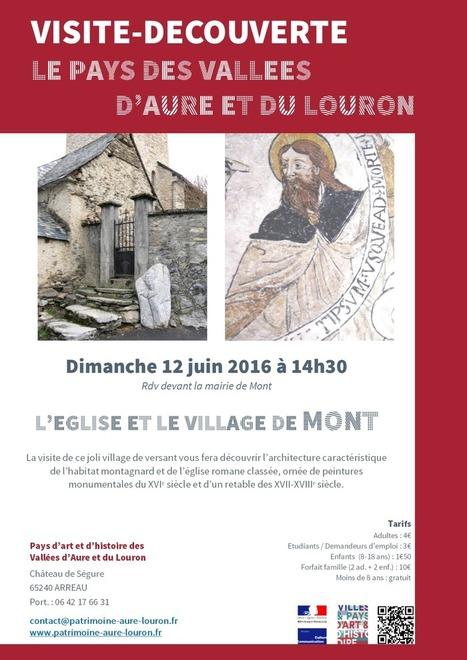 Visite de Mont le 12 juin - Pays d'Art et d'Histoire | Vallée d'Aure - Pyrénées | Scoop.it