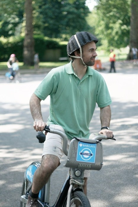 Paper helmets could make cycle share schemes safer, say creators | Bicycle Safety and Accident Claims in CA | Scoop.it
