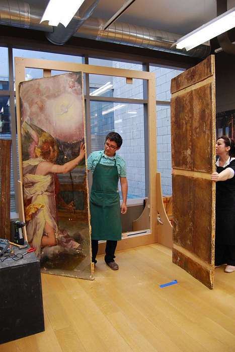 Saving an Altarpiece (Part I): Coming Apart at the Seams | Art Conservation and Restoration | Scoop.it