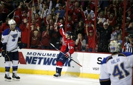 Mikhail Grabovski relishing his creative freedom with Caps - Washington Post (blog)   Hockey   Scoop.it