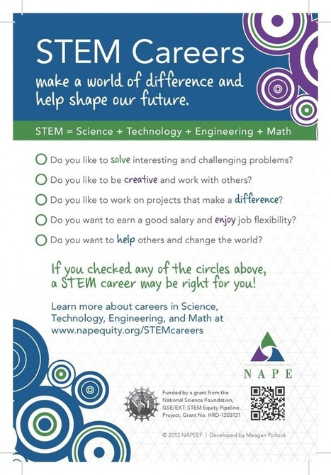 STEM Careers: Just for Students | National Alliance for Partnerships in Equity | STEM - employment fields | Scoop.it