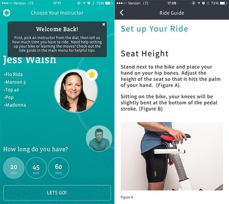 CycleCast Launches Audio-Guided Indoor Cycling App on iOS   SocialTimes   Go Digital-Mobile   Scoop.it