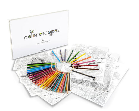 Crayola Now Has Its Own Line of Coloring Books For Adults - Gizmodo | Library things and stuff | Scoop.it