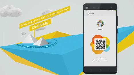Condivisioni contatti con codice QR: MIUI ROM 4.10.31 | QRCODE_ITALY | Scoop.it