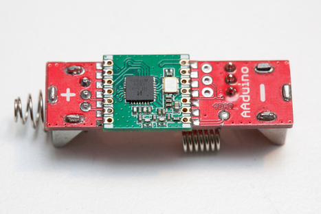 Mad scientist shrinks Arduino to size of an AAbattery | Arduino, Netduino, Rasperry Pi! | Scoop.it