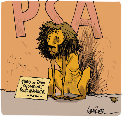 Peugeot, le lion affamé | Politis | Looks -Pictures, Images, Visual Languages | Scoop.it