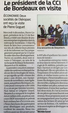 Tweet from @Bdx_Technowest | Groupe et Marques CCI de Bordeaux | Scoop.it