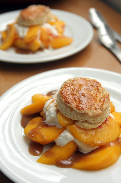 Peach Shortcake | Recipes | Delicious Desserts and Dessert Recipes | Scoop.it