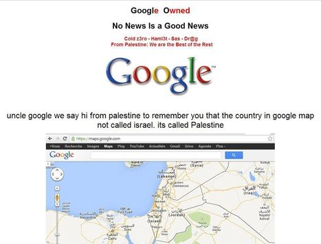 Google Palestine Hacked - Google.ps Hacked - Hack Reports | Hack Reports | Scoop.it
