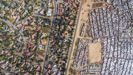 Drone Photos Capture the Stark Divide Between Rich and Poor in South Africa | Archivance - Miscellanées | Scoop.it