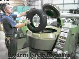 REMOULD CAR TYRES