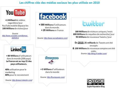 Le web social en 2010 | Digital Reputation Blog | Social Media Exploration | Scoop.it