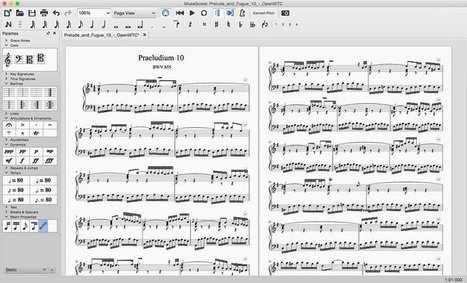 Musescore, éditeur de partitions libre - LinuxFr.org | Actualités de l'open source | Scoop.it