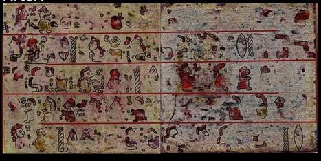 Un manuscrit Mixtèque caché depuis des siècles a été déchiffré | Aux origines | Scoop.it
