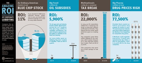 The Amazing ROI of Corporate Lobbying | Visual.ly | The Occupied Mind | Scoop.it